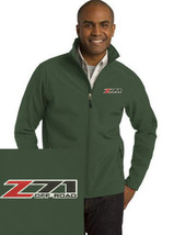 Chevy Z71 Green Embroidered Port Authority Core Soft Shell Jacket NEW - $39.99
