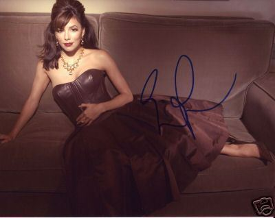 Eva Longoria hand signed Desperate Housewives photo
