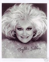 Phyllis Diller comedian hand signed autographed photo - $35.00