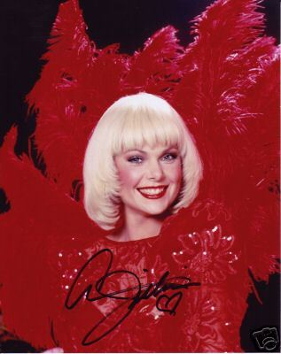 Ann Jillian hand signed stunningly beautiful photo