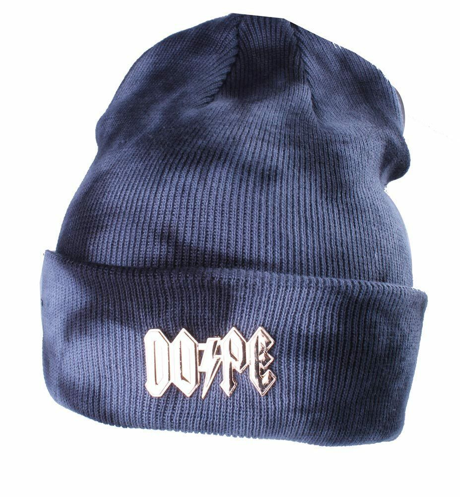 Dope Couture Mineral Wash Gold High Voltage Beanie