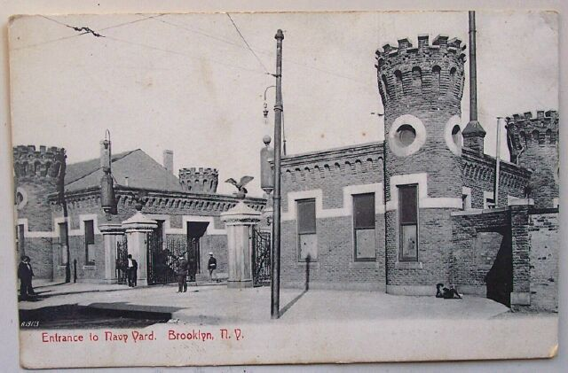 Primary image for 1910 PC Entrance Navy Yard, Brooklyn, NY