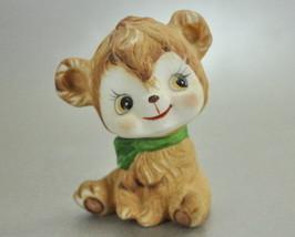 Vintage Kelvin Bone China Brown Teddy Bear Figurine C734 - $6.50