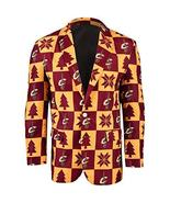 NBA Cleveland Cavaliers Men's Patches Ugly Business Jacket, Size 50/XX-L... - $24.95