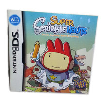 Super Scribblenauts Nintendo DS Replacement Booklet  * NOT GAME - $4.88