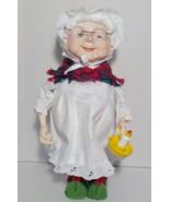 Goodnight Maudiberry Elf Department 56, 1988 Christmas Holiday Decor figure - $20.00