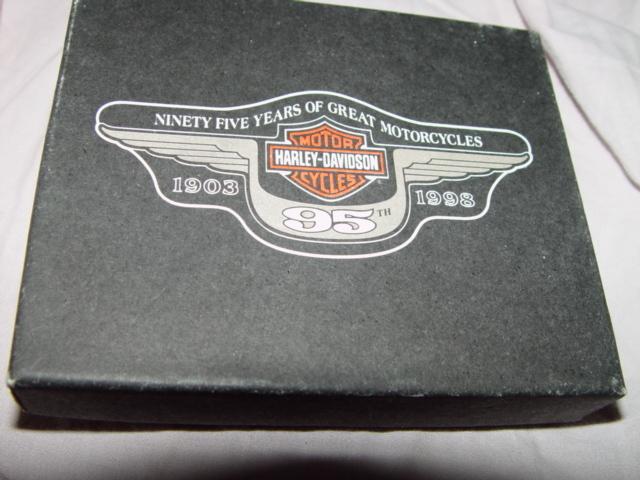 HARLEY-DAVIDSON 95THANNIVERSARY Business Card Holder