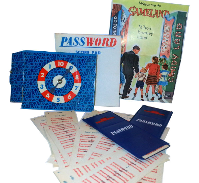 Password Milton Bradley Board Game Replacement Pieces * Vol. 4 / 1964 Edition - $4.88