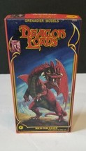1984 DRAGON LORDS Granadier Models RED DRAGON Figure Set #2502 Complete ... - $44.54