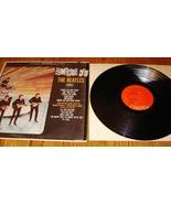 BEATLES SOMETHING NEW ORANGE LABEL LP CAPITAL - $95.00