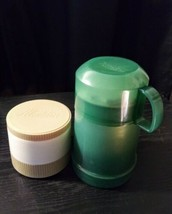 Vintage Aladdin Model #7000 & Thermos Brand Insulated Soup Thermo Jars 4 & 10 oz - $4.85