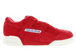 Men's Reebok Workout Plus Vintage BD3383 Primal RED/CHALK White Ds Brand New - $39.95