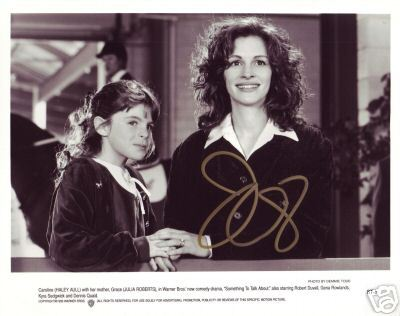 Julia Roberts hand signed autographed lobby card photo