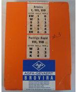 Brovira Agfa Gevaert 5x7 100 Sheets #4 BN119 Germany - $99.99
