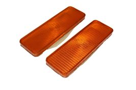 2 Front Parking Turn Signal Light Lens Ford Truck Bronco F150 F250 F350 80-86 image 4