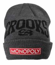 Crooks & Castles Charbon Monopoly Pli Bonnet