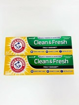 Lot of 2 Arm & Hammer Truly Radiant Clean and Fresh Toothpaste - 4.3 oz New - $13.06