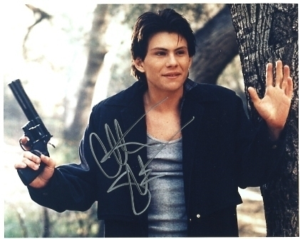 Christian Slater hand signed autographed sexy photo