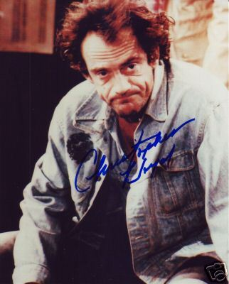 Christopher Lloyd hand signed photo Taxi Back to the Future