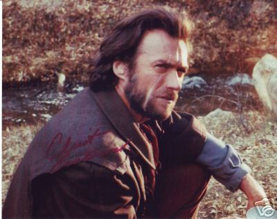 Clint Eastwood  hand signed autographed photo The real deal!