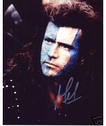 Mel Gibson hand signed autographed photo Braveheart - $99.00