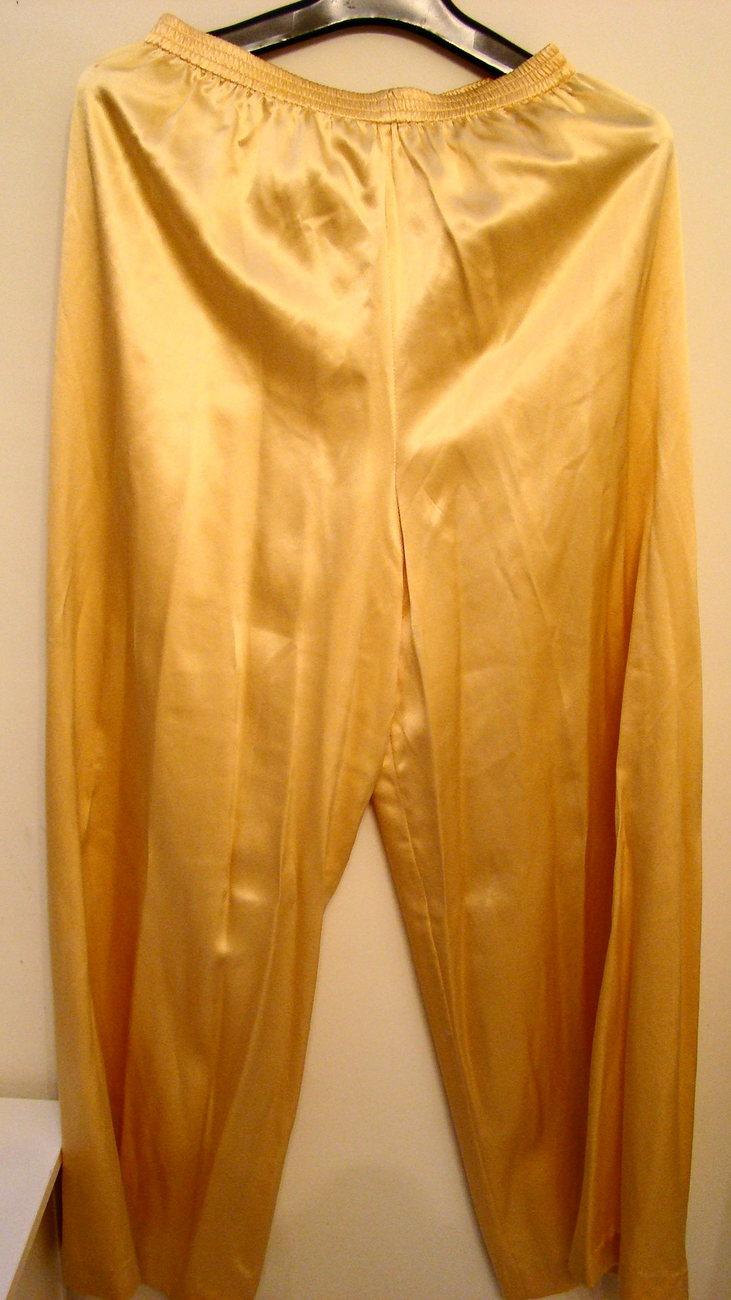 Vintage Josie NATORI Neiman Marcus Silk Tunic and Pants