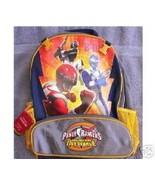 Operation Overdrive Power Rangers BACKPACK Disney Store NEW Full Size Bo... - $39.99