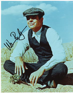 Warren Beatty hand signed autographed photo Bugsy