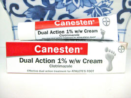 Bayer CANESTEN Dual Action 1% w/w Cream Clotrimazole for Foot & Jock Itc... - $15.83