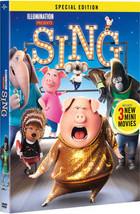 Sing (2017) DVD