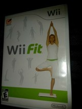Nintendo Wii Fit Video Game ONLY Fitness 40 Fun Activities Exercise  - $7.92