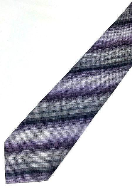 New KENNETH COLE New York SILK TIE Purple & Silver Men's Neck Tie Designer