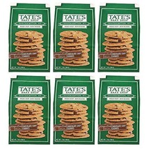 Tate's Bake Shop Thin & Crispy Cookies, Chocolate Chip, 7 Oz, Pack Of 6 - $62.32