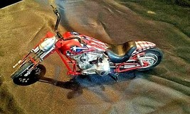 Chopper Motorcycle Figurine Replica 305-BVintage image 2