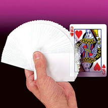 Imaginary Blank Deck Poker Cards Magic Close Up Trick WATCH DEMO + FREE ... - $19.99