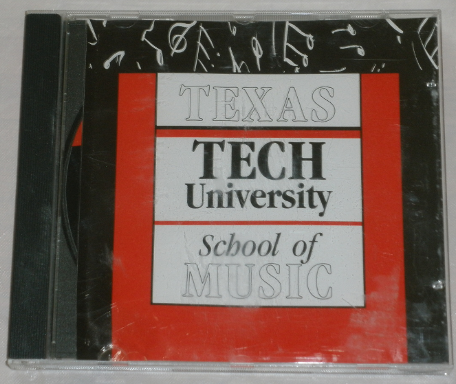 Texas Tech University School Of Music - CD