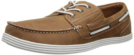 Kenneth Cole Unlisted Boat-ing License Boat Shoes Tan 7.5 M MSRP 60 New - $38.11