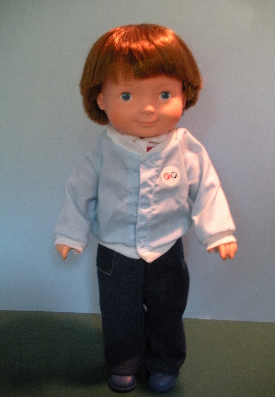 Primary image for VINTAGE FISHER PRICE MY FRIEND #205 MIKEY DOLL NEAR MINT!
