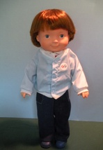 VINTAGE FISHER PRICE MY FRIEND #205 MIKEY DOLL NEAR MINT! - $70.00
