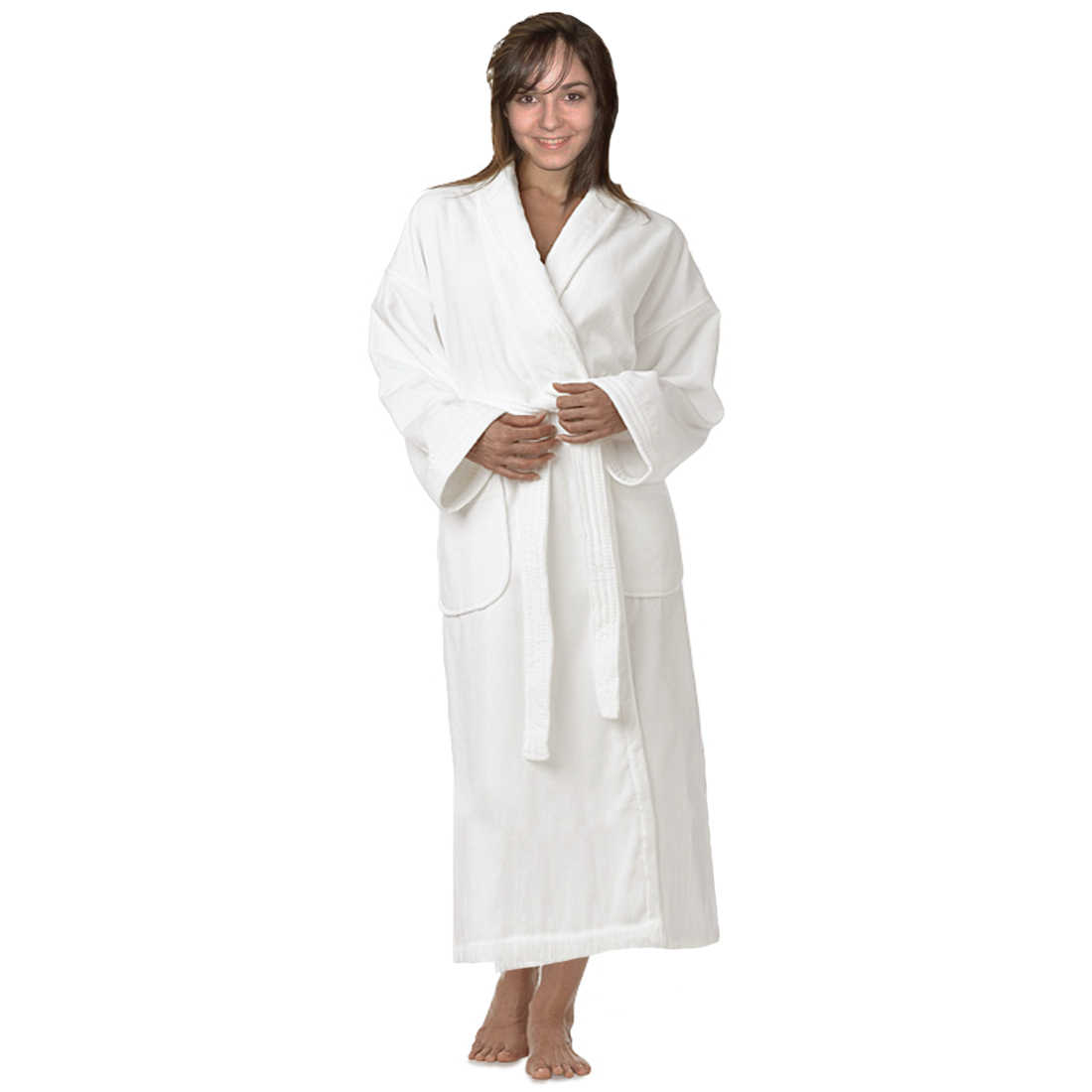 Luxury Shawl Velour / Plush Bathrobe, Sz: Universal, UNISEX