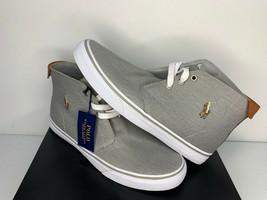 NWT SIZE 10.5 MEN Polo Ralph Lauren Talin High Top Shoe Sneaker Casual D... - $49.49