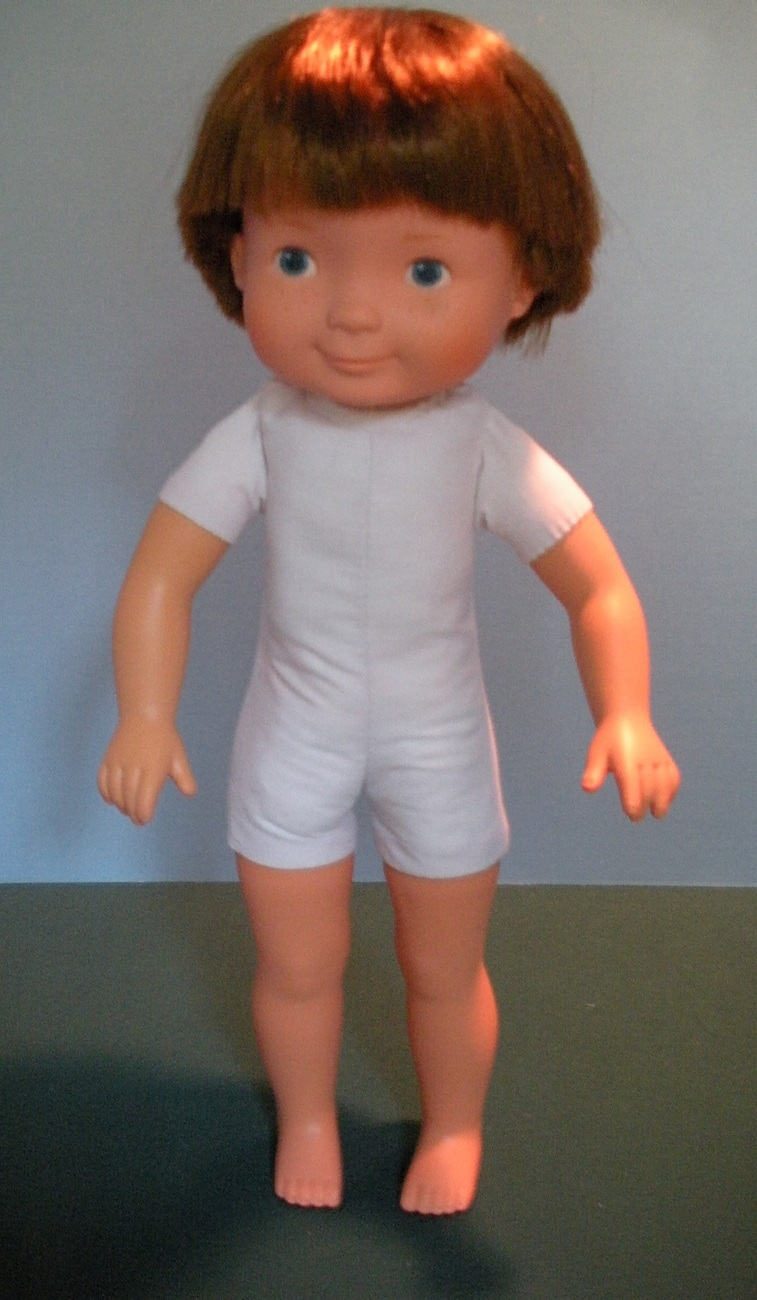 VINTAGE FISHER PRICE MY FRIEND #205 MIKEY DOLL NEAR MINT!