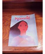 Disney Pocahontas Movie Song Book for vocal and piano - $5.95
