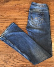 Silver Jeans Kingston Low Rise Boot Cut Tag Size 27 Long Actual 33 in x ... - $19.79