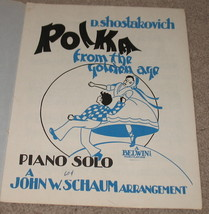 Polka From The golden Age Sheet Music 1944    - $9.95