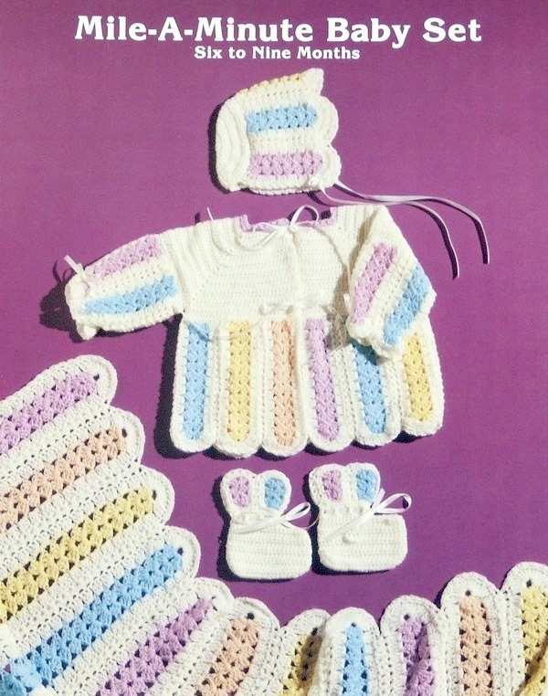 Mile A Minute BABY SET to Crochet! JAO Pattern EASY TO MAKE!