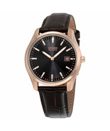 """Citizen Men's AU1043-00E """"Eco-Drive"""" Stainless Steel Watch Brown Leather... - $97.50"""