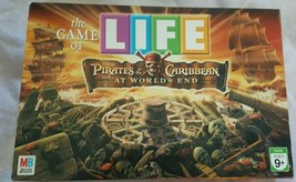 Game Of LIFE Pirates Of The Caribbean Board Game 100% Complete Disney Pirate - $24.74