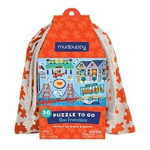 Mudpuppy San Francisco to Go Puzzle (36 Piece) - $12.33