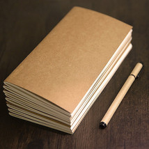 New Refillable Inner Paper for Traveler's Journal Diary 64 Pages 8.3 x 4... - $8.78 CAD